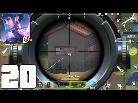 Cyber Hunter - Gameplay part 20 - Battle Royale Solo 14 kills(iOS, Android)