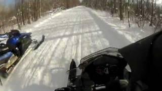 10. 2012 Ski Doo Renegade 800 ETEC versus 2007 Yamaha APEX