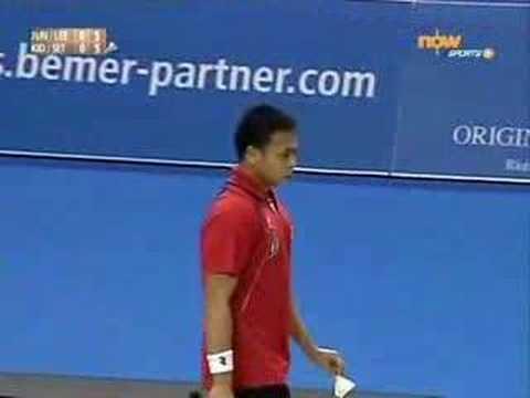 2008 Swiss Open - MDF - Jung / Lee vs Kido / Setiawan - 1/5 (видео)