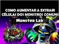 Monster Lab extrair Aumentar C lulas Monstros Comuns