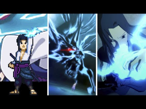 Evolution of Sasuke's Kirin in Games (2009-2020)