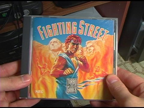 TurboGrafx CD - Fighting Street - AVGN episode segment