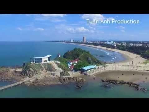 Du lịch và khám phá bãi biển Cửa Lò bằng Flycam tuyệt đẹp