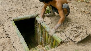 Video Building The Most Secret Underground Bamboo House By Ancient Skill MP3, 3GP, MP4, WEBM, AVI, FLV Januari 2019