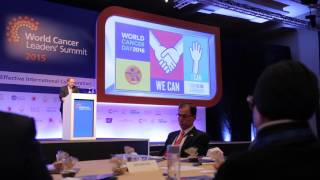 <h5>Jawaher Al Qasimi calls for global cooperation during the World Cancer Leaders' Summit</h5>