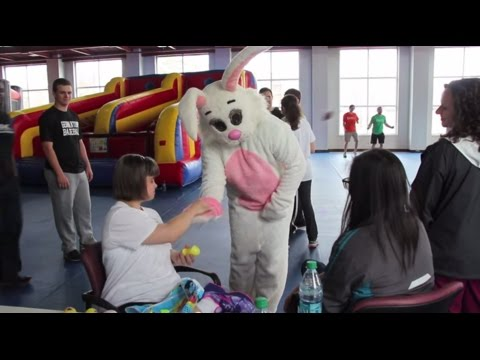 Video: M1's host Seedsters for Easter party