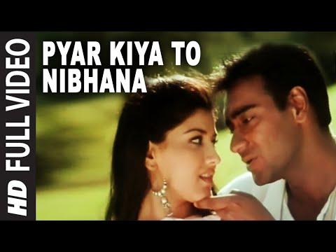 'Pyar Kiya To Nibhana' Full 'VIDEO Song - Major Saab | Ajay Devgn, Sonali Bendre
