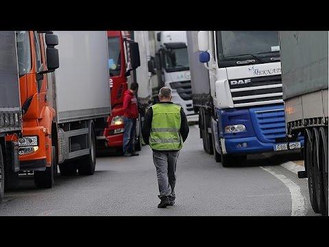Κατά του κατώτατου μισθού στη Γαλλία οι εταιρείες φορτηγών της Ανατολικής Ευρώπης