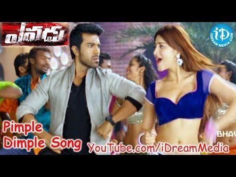 Yevadu Movie - Pimple Dimple Video Song || Ram Charan || Allu Arjun || Shruti Haasan || DSP