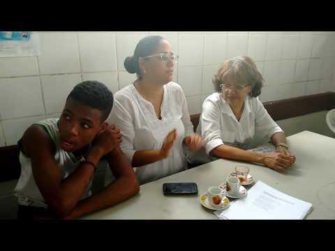Quanta Notícia - Thiago David na Escola Municipal Pedro Paranhos em Lauro de Freitas, BA