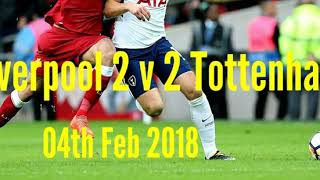 Download Lagu Liverpool 2 v 2 Tottenham H. - Goals,Drama,Controversy - Radio Commentary 04/02/2018 Mp3
