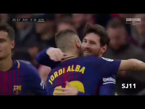 Barcelona vs Atletico Madrid 1-0 All goals and highlights 04/03-2018 HD