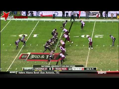 Jace Amaro vs Arizona State 2013 (Holiday Bowl) video.