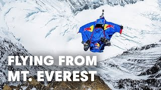 Flying From Mt. Everest - World Record Base Jump