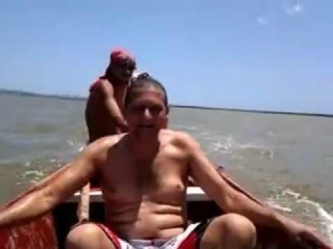 na lagoa mundau em coqueiro seco