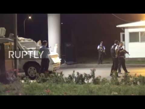 Video - Επίθεση με ρουκέτες σε αεροδρόμιο της Τουρκίας (vid)