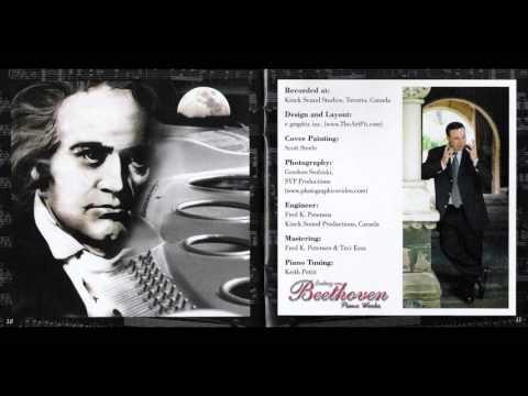 Beethoven Moonlight Sonata No. 14, Opus 27 No. 2 in C sharp minor, Part I by Tzvi Erez