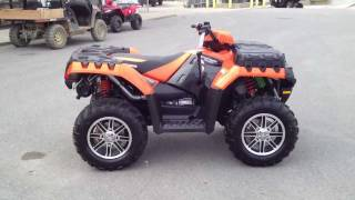 2. 2012 Polaris Sportsman 550 EPS Orange Madness LE
