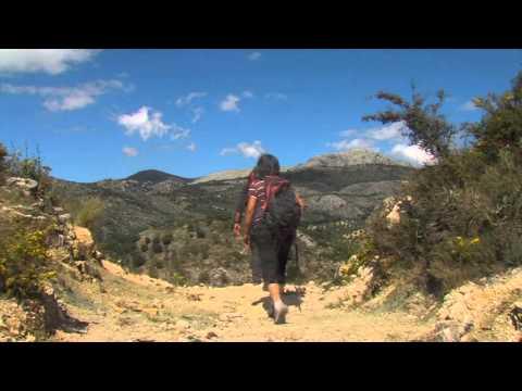 Die Gebirge von Málaga