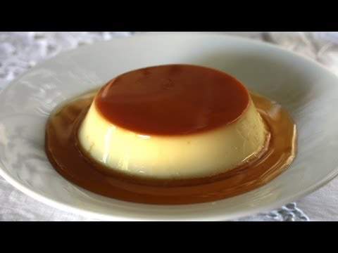 Vietnamese Recipe: How to Make Flan Creme Caramel – Bánh Flan)