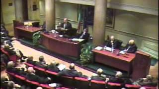Convegno costi democrazia - On. Gerardo Bianco