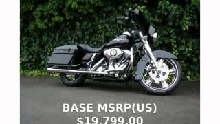 6. 2013 Harley-Davidson Street Glide Base -  Specification superbike Engine Top Speed motorbike