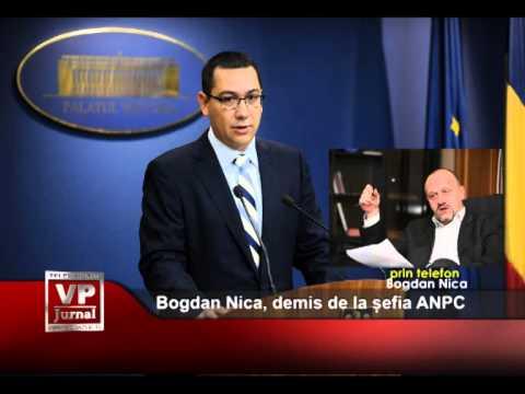 Bogdan Nica, demis de la șefia ANPC