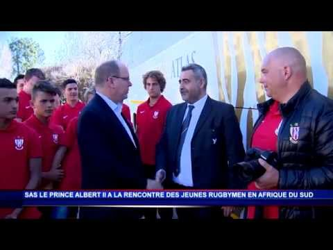 Les jeunes rugbymen de Monaco en Afrique du Sud