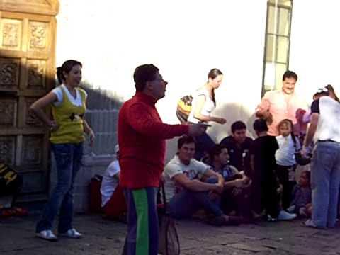 Payasos y Mimos en Coyoacan Parte 5: Pedro Miranda