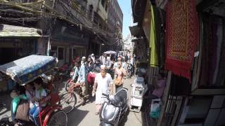 Video Walking Through Old Delhi, India MP3, 3GP, MP4, WEBM, AVI, FLV September 2017