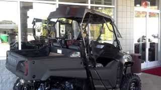7. Honda Pioneer 700 Accessories Installed at Honda of Chattanooga TN / Hard Top & Windshield