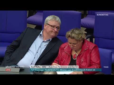 Bundestagsdebatte zu Änderungen im Straf- und Aufenth ...