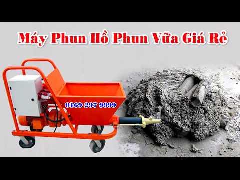 Máy Phun Vữa Phun Hồ Giá Rẻ  Hotline 0392979999