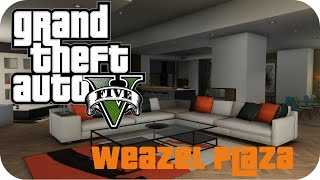 Welcome to my Channel.Since today I always upload some GTA 5 Online Videos. And the first Video today is a show of the Weazel Plaza Apartement, next Video I show you my Garage with my whole Supercars :)If you like it, thumbs up or leave a comment...............................................................................................►FACEBOOK: https://www.facebook.com/DaxMatic►GOOGLE+: https://plus.google.com/+DaxMatic/posts..............................................................................................« CINEMATICS MINECRAFT (PLAYLISTS) »► EPIC! - Series: http://bit.ly/1OuH1UC► TexturePacks: http://bit.ly/1DpXNhu► RollerCoasters: http://bit.ly/1DYCFUe► Server-Map: http://bit.ly/1Eh9f5J► Mansions: http://bit.ly/1xrKO1q► Modern Buildings: http://bit.ly/1AewzwC► Ships/Yachts: http://bit.ly/1wYEo8Q..............................................................................................« CREDITS »► Outro: https://www.youtube.com/user/OffTM4► Music: Ahrix - Nova..............................................................................................« ROCKSTAR »► Official Site: http://www.rockstargames.com/V► Social Club: socialclub.rockstargames.com► Editor: Rockstar Editor..............................................................................................