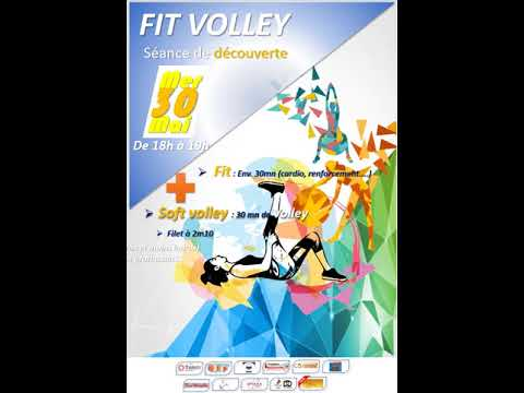 Affiche FIT Volley