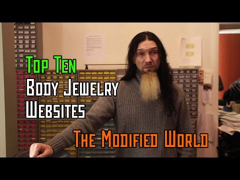 Top 10 Websites For Body Jewelry- THE MODIFIED WORLD