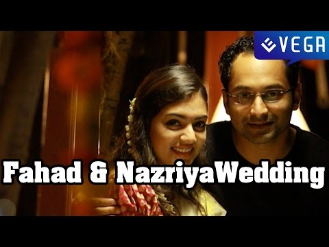 Fahad Faasil and Nazriya Nazim Wedding
