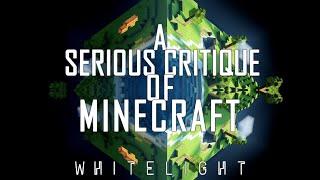 Video A Serious Critique of Minecraft MP3, 3GP, MP4, WEBM, AVI, FLV September 2019