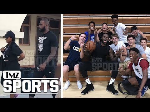Lebron James Shopping For Schools In L.A.?  | TMZ Sports