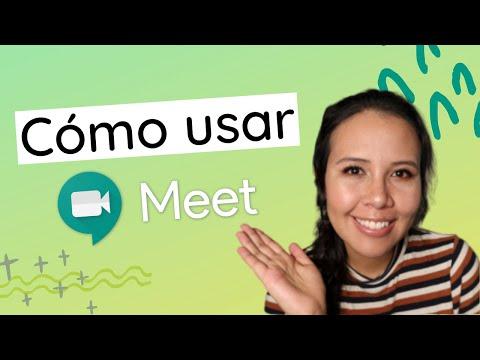 Como usar GOOGLE MEET para dar clases - PASO A PASO