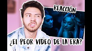 REACCIÓN A 'BREAK UP WITH YOUR GIRLFRIEND, I'M BORED' - ARIANA GRANDE | Niculos M