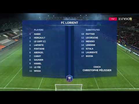 Lorient 0-1 PSG Coupe de france highlights 19.01.2020