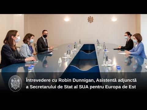 """Președintele Maia Sandu: """"Moldova își dorește să aprofundeze Dialogul Strategic cu SUA, unul dintre principalii noștri parteneri de dezvoltare"""""""