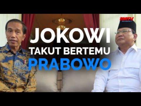 Jokowi Takut Bertemu Prabowo