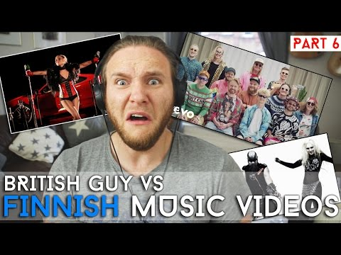 REACTING TO FINNISH MUSIC VIDEOS | Part 6
