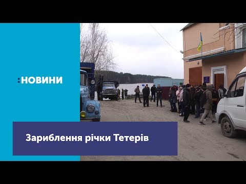 В Житомирское водохранилище выпустили почти 2 тонны рыбы