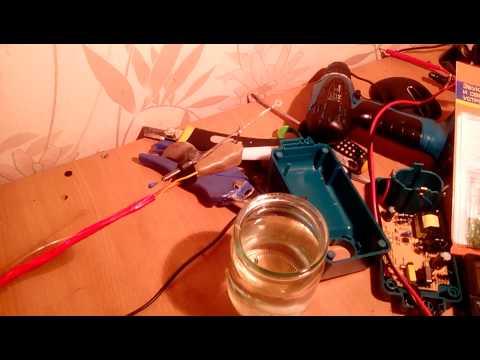 электрическая удочка своими руками видео