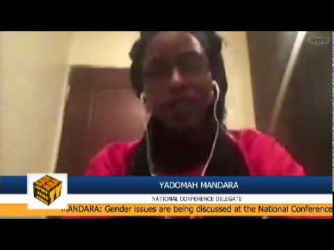 """We [Youth] Are Really Scared Because We're Underrepresented [At NationalCONFAB].""-Yadomah Mandara"