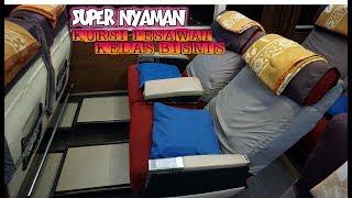 Video BUS DENGAN SEAT PESAWAT KELAS BISNIS SUPER NYAMAN & BESAR. Raya Super Top. Trip Raya Jakarta - Solo MP3, 3GP, MP4, WEBM, AVI, FLV Agustus 2018