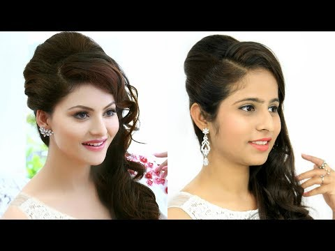 Side PUFF Hairstyle for Indian Party/Wedding - Bollywood Inspired Hairstyles | Anaysa